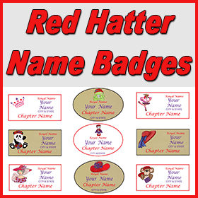 Red Hat Name Tags