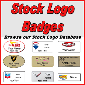 Stock Logo Badges