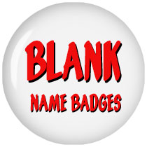 Blank Name Badges