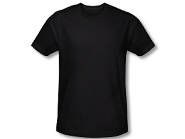 Black crew neck t shirt for black and bling ladies for T shirt plain black