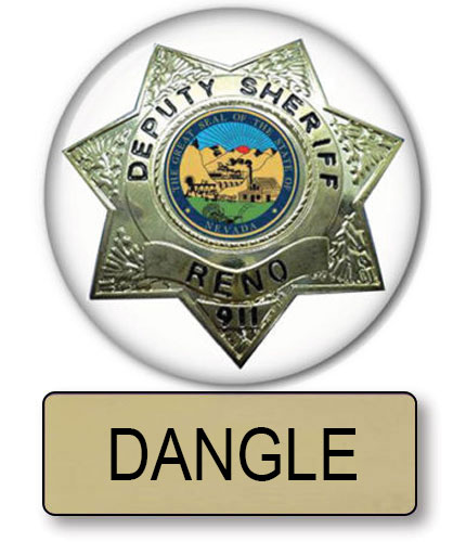 Costume Halloween 911.Halloween Costume Accessories Button And Badge For Dangle Reno 911