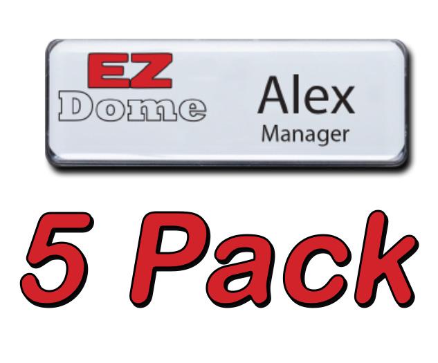EZ Dome Name Badges, reusable Mighty inexpesive wholesale
