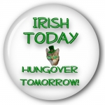 Irish Today - Hangover Tomorrow Dog