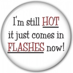 I'm Still Hot It just Comes In Flashes Now