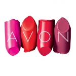 Avon Broken Lipstick Logo Name Badge Sample