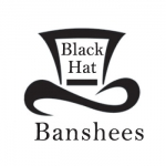 Black Hat Banshees Name Badge