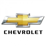 Chevrolet Logo Name Badge with Text