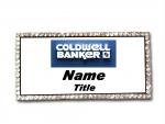 Coldwell Banker Real Estate Agents Bling  Name Badge