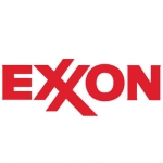 Exxon Name Badge