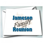 Family Reunion1 Invitations 24pk