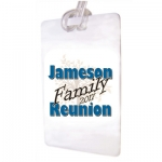 Family Reunion B Luggage Tags 12pk