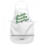 Family Reunion G White Apron