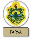 "Farva Super Troopers  Name Badge & 3"" Button Halloween Costume"