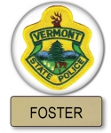 "Foster Super Troopers  Name Badge & 3"" Button Halloween Costume"