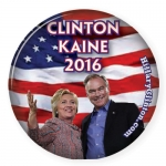 Hillary / Kaine campaign button 10pk