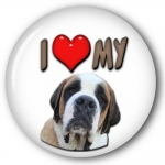 St Bernard Button