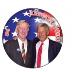 Johnson & Weld Libertarian Candidates campaign button