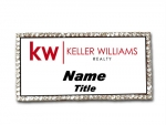 Keller Williams Real Estate Agents Bling  Name Badge
