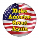 Donald Trump Make America Great Again campaign button 10pk