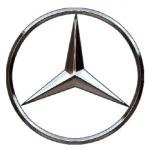 Mercedes Logo Name Badge