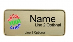Executive Name Badge Sample