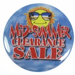 Midsummer Clearance Sale Button