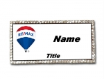 Remax Real Estate Agents Bling  Name Badge