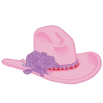 Red Hat Badge Artwork #31 Pink