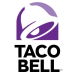 Taco Bell purple logo Name Badge Sample