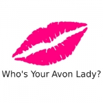 Who's Your Avon Lady Name Badge Sample